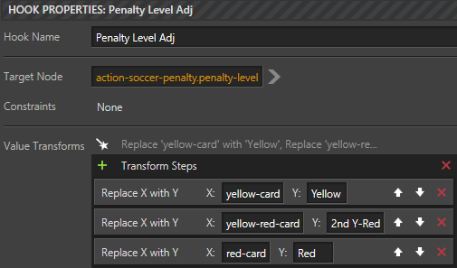 Yellow and Red Card graphics